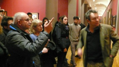 Arran's 3 Dublin Decoded How to Read a painting Tour, at the national Gallery of Ireland.