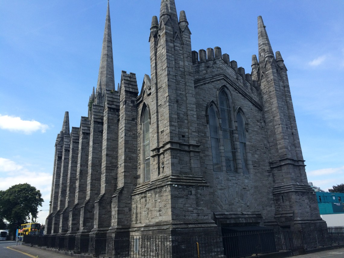 Arran's Parnell Sq to Grangegorman tour Black Church