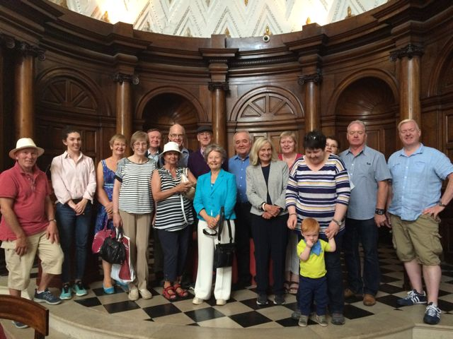 HOUSE oF LORDS Dublin Decoded August Tour for IGS