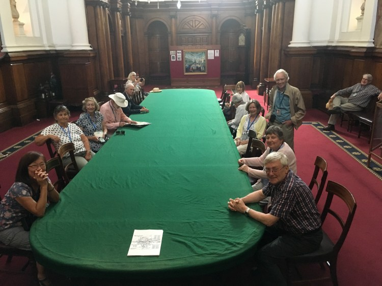 London Art History Society early July 2018, (at the House of Lords)