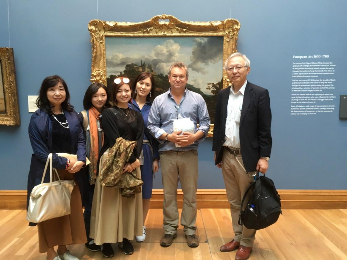 with the Nokazaki Family at the NGI