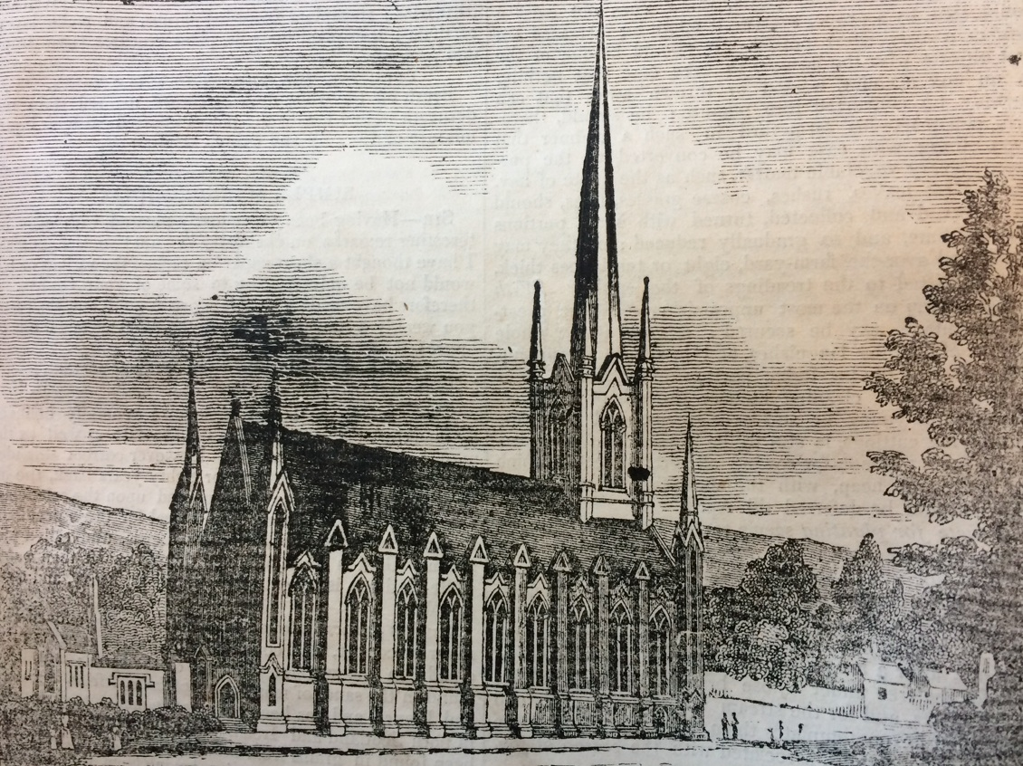 RATHMINES Church of the Holy TRINITY John SEMPLE