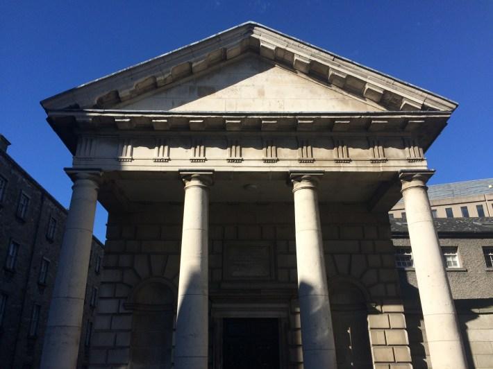 RICHARD CASTLE PRINT HOUSE TRINITY COLLEGE GEORGIAN SCHOOLS