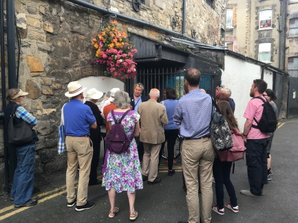 near Capel St with Arran Henderson of Dublin Decoded Tours