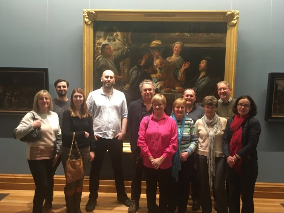 National Gallery tour evening guided Art tour with Arran Henderson of Dublin Decoded