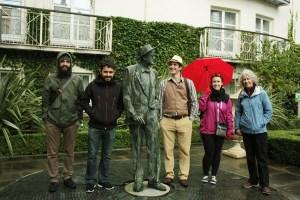 the Ulysses tour crew