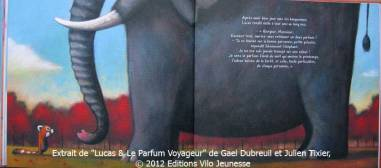 Lucas et parfum voyageur Dubreuil Tixier