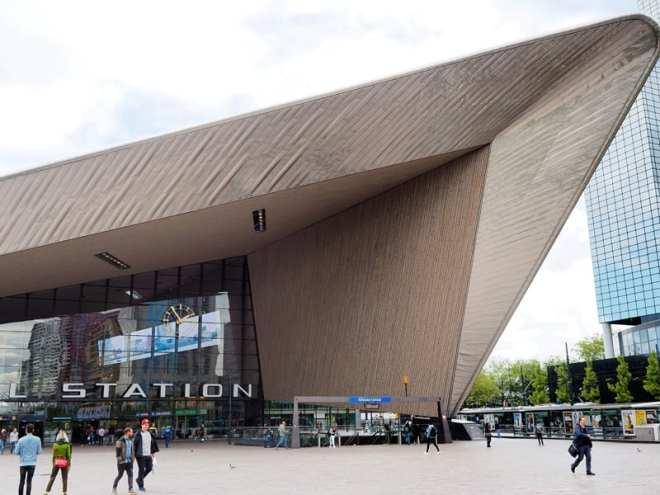 Architektur in Rotterdam
