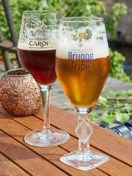 Belgische Bier ist wirklich das Beste.