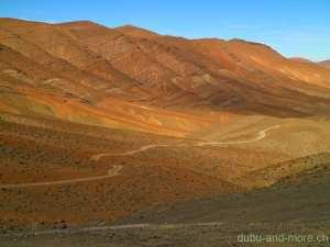 Morocco Pass height