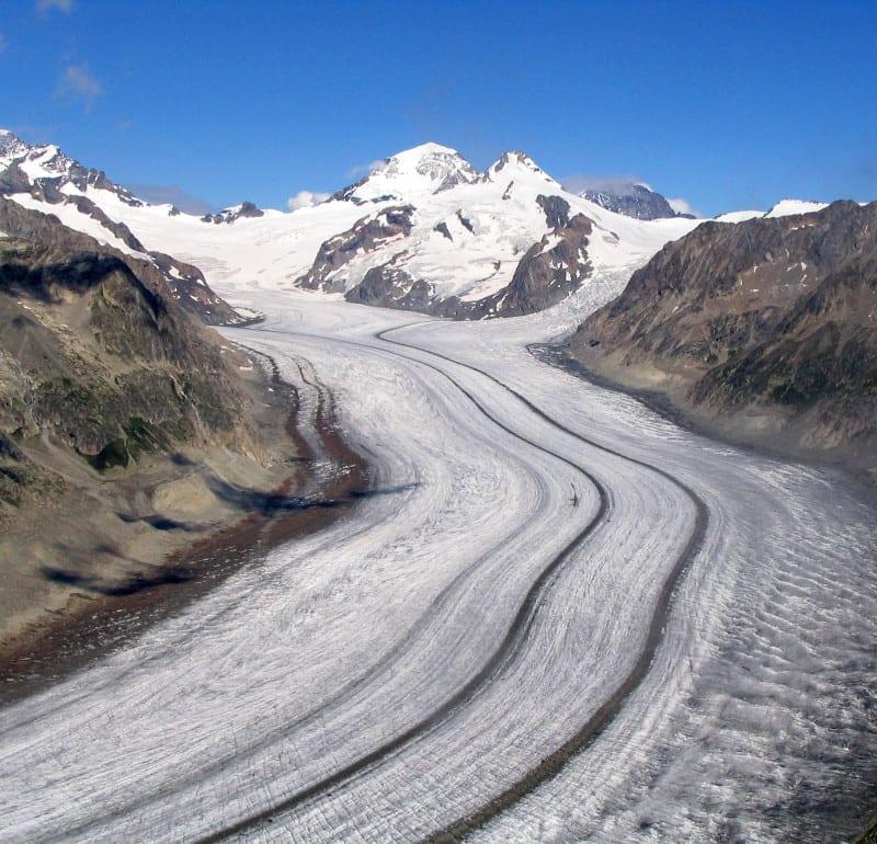 Aletschgletscher Dubu
