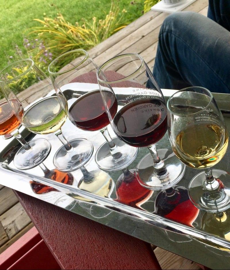 Kanada Wine tasting