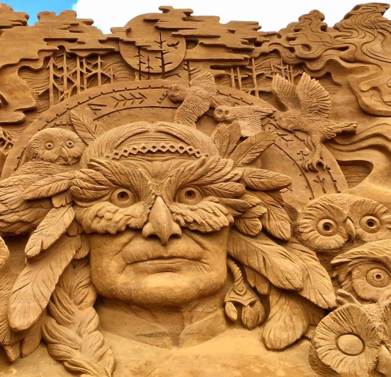 Rinkobing Sandskulpturen