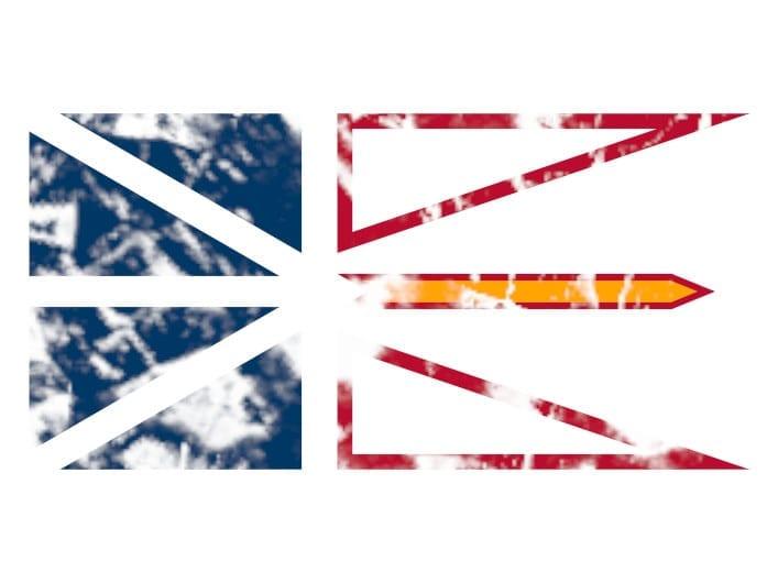 Flagge Neufundland