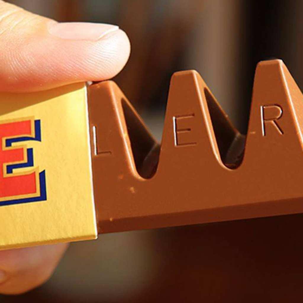 Schweizer Schokolade. Toblerone