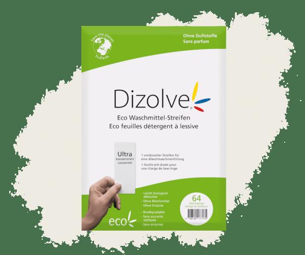 Dizolve 64 Waschgänge ohne Frischeduft