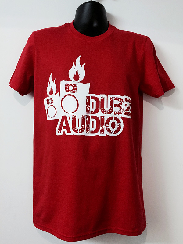 Dubz Audio T-Shirt Red