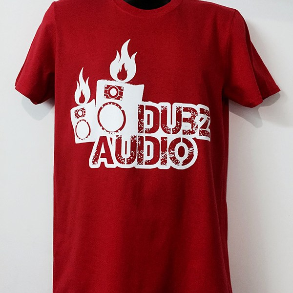 Dubz Audio T-Shirt Red