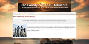 Family-Whanau Mock Website