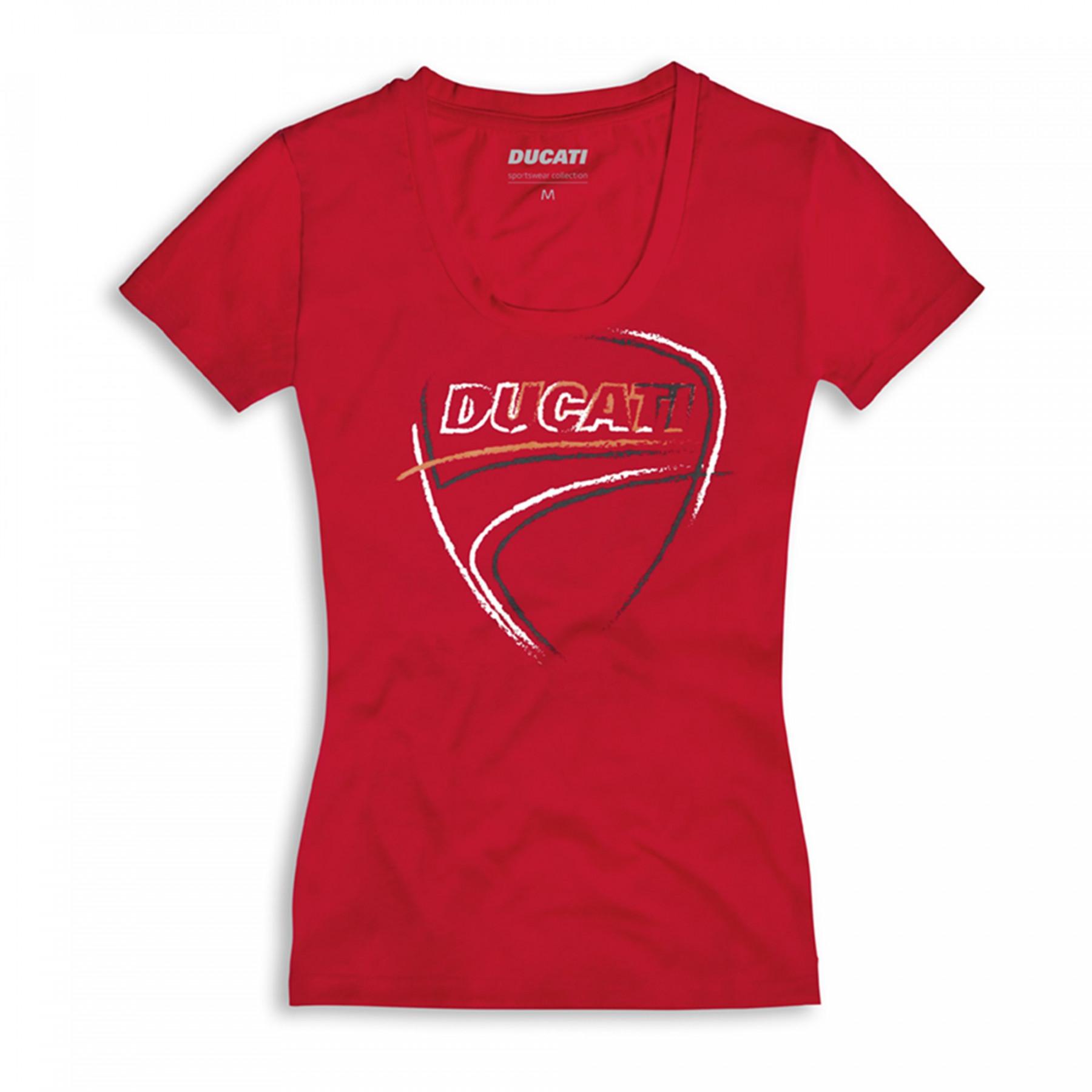 T-shirt Heart Beat woman Ducati