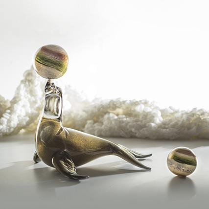 FOCA  Seal  H 35 cm
