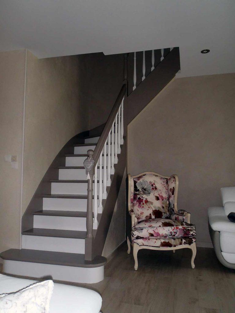 Moderniser Un Escalier En Bois Stunning Relooker Un