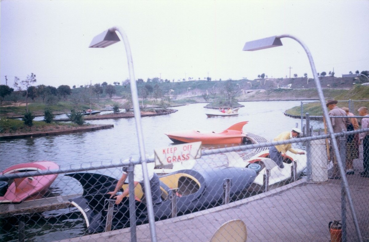 Tomorrowland Phantom Boats