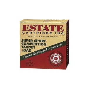 Estate Super Sport Competition Target Load 12GA 2.75-inch 7/8oz #8 Shot 25rds