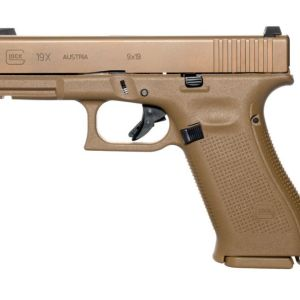 Glock 19x Coyote Tan 9mm 4.01-inch 10Rds