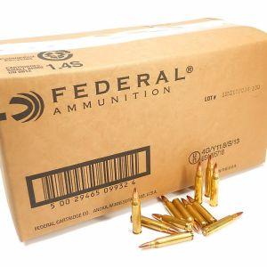 223 5.56x45 Ammo 55gr FMJ Federal American Eagle (AE223BKX) 1000 Round Bulk Case