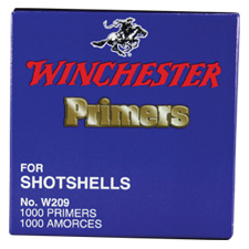 Winchester 209 Shotshell Primers (Box of 1,000)