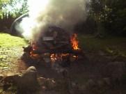 Ogień, dym i wiatr, drewno i kamienie, to znaczy, że będzie mocno się działo