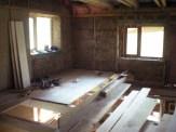 Drewniany strop ma swoje plusy i minusy
