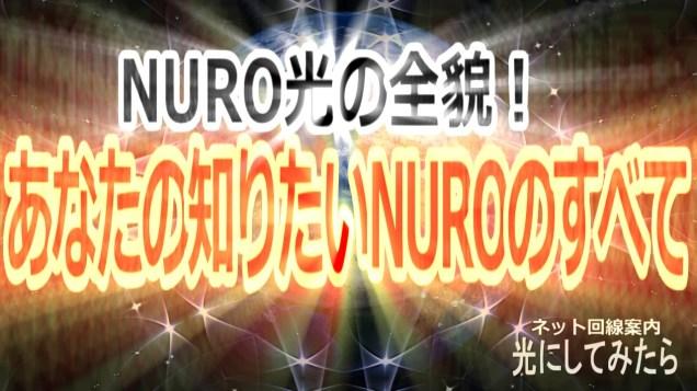 NURO光の全貌