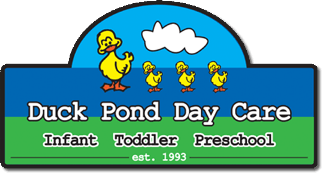 duck pond day care logo
