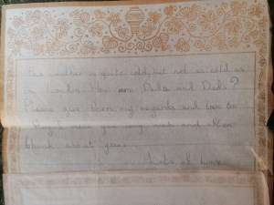 letter from Mahin.