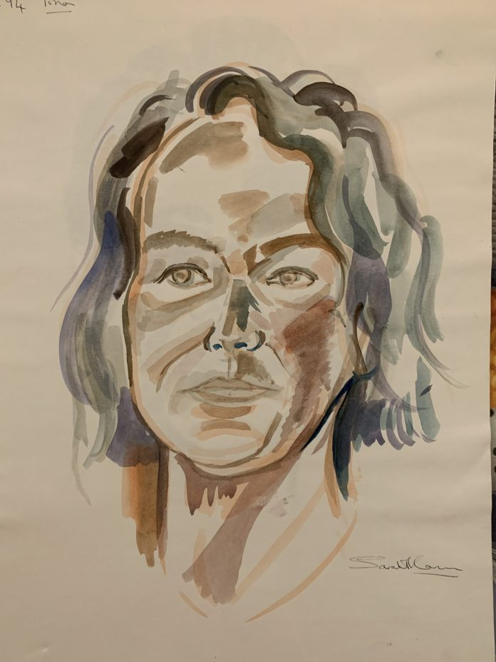 Mum watercolor