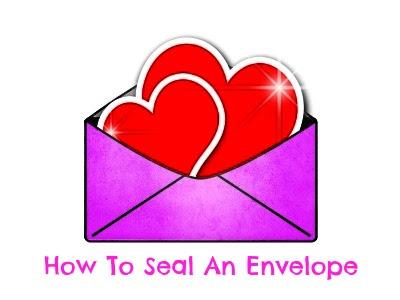 household hints, tips, envelopes, invitations
