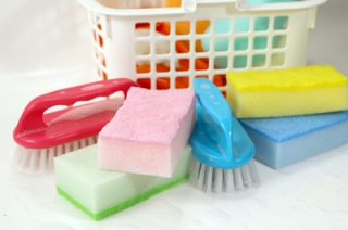 cleaning supplies, cleaning tools