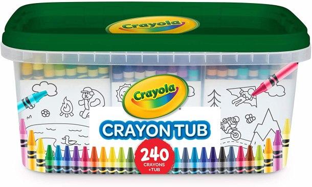 Crayola crayon tub of 240 crayons #ad