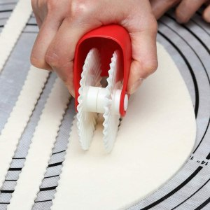 Pastry wheel pie making decorating tool #ad