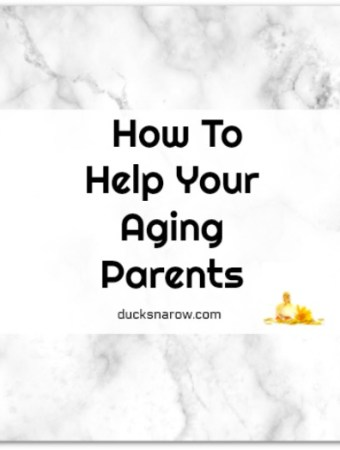Help for your aging parents #tips