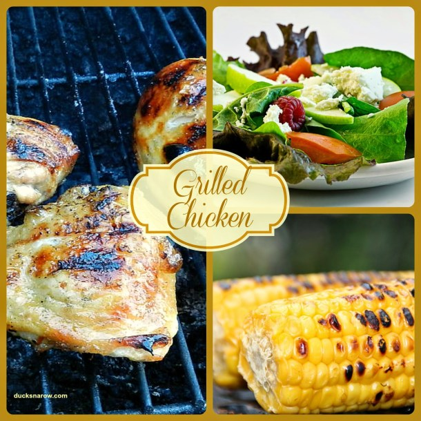 Grilled chicken; beer marinade recipe #grilling #recipes #cookout
