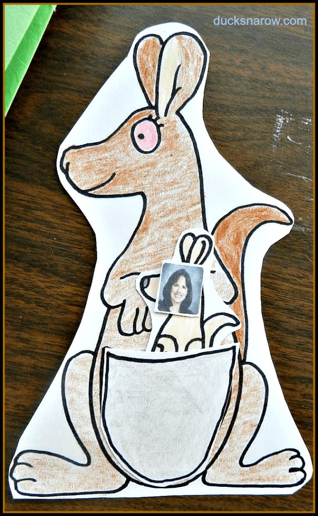 letter k is for kangaroo kidscrafts kangaroo preschool