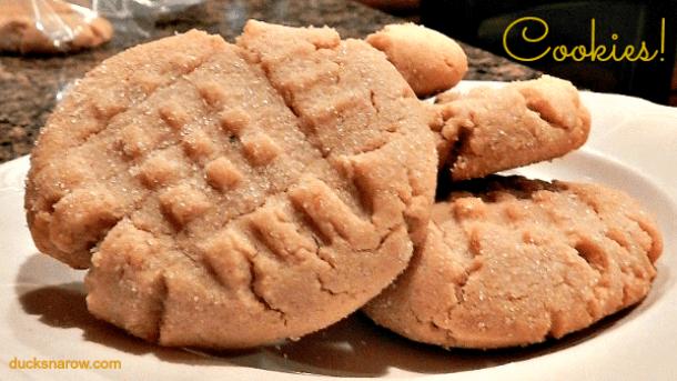 Peanut butter cookies #recipes