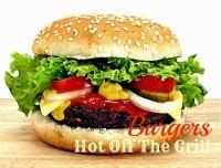 Red Robin knockoff burger; bacon hamburger