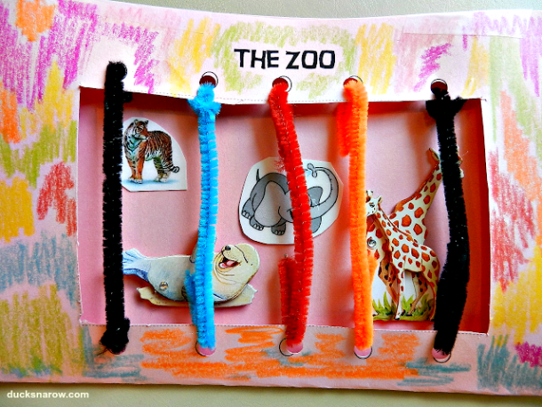 zoo; zoo animals; jungle animals, preschool craft; kids crafts