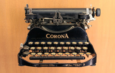 old fashioned typewriter; typing; screenplay; writing