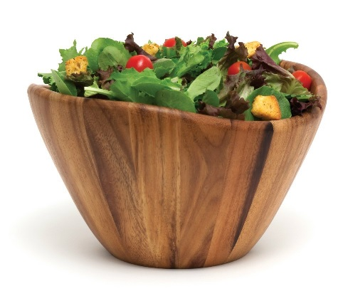 Wooden salad bowl - best seller! Makes great gift #affiliate