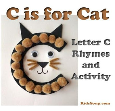 Letter C is for Cat Preschool Craft
